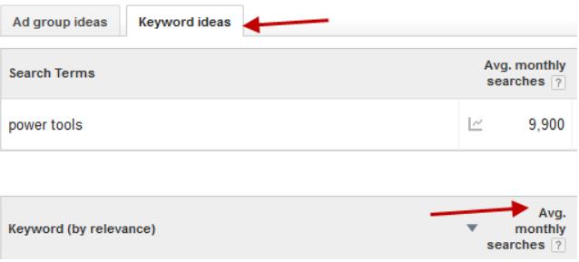 Amazon-niche-research-Keyword-planner-filter