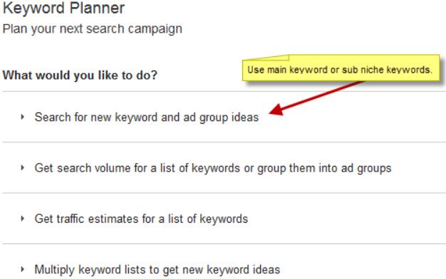 Amazon-niche-research-Keyword-planner